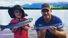 Chris Pratt and His Son Are the Cutest Fishing Buddies Around