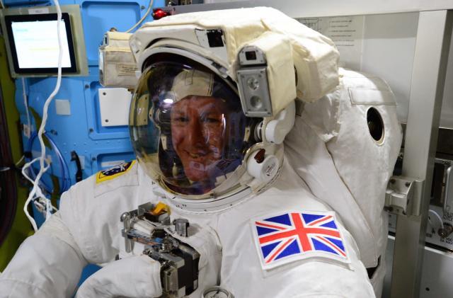Watch Tim Peake become the first Briton to spacewalk