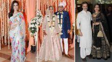 Raveena Tandon, Kriti Sanon Party At Dinesh Vijan's Wedding