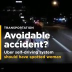 Experts: Uber self-driving system should have spotted woman