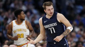 MVP? Doncic stays hot with another triple-double