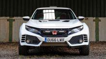 Look at this epic Honda Civic Type R rally car