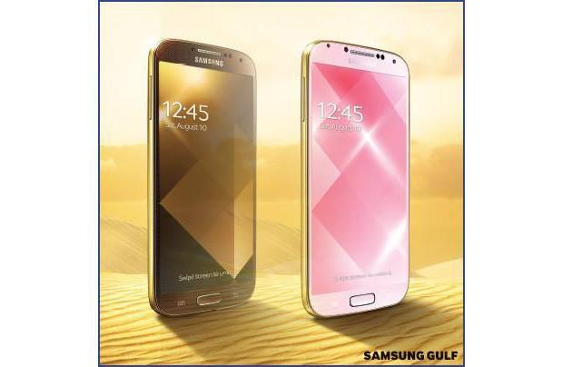 Out of nowhere, Samsung hits us with a gold GS4