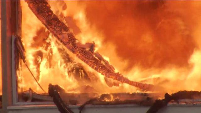 The Beach Is Burning: Seaside Heights Goes Up In Flames