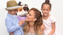 Jennifer Lopez's Twins Support Her In Style as She Returns to Las Vegas -- See the Pic!