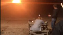 Texas woman blows up her wedding dress to celebrate the end of her 14-year marriage