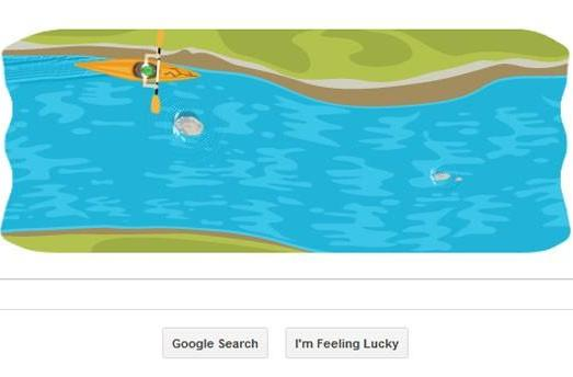 Hit the rapids with Google's latest Olympic doodle