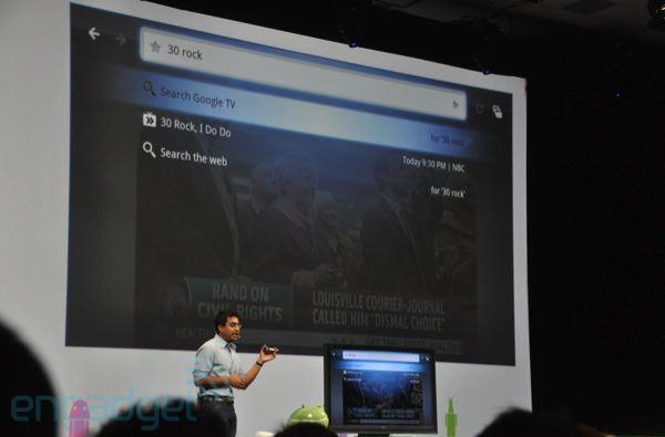 Google TV turns on at I/O: runs Android and Flash, partnered with Sony, Logitech, and Intel