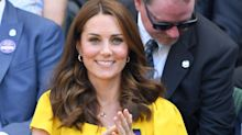The Duchess of Cambridge Wore a Push Present from Prince William at Wimbledon
