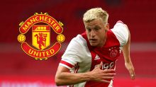 'Joining Real Madrid would've been a disaster for Van de Beek' – Former coach supports Man Utd move