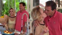 Ana Maria Braga ganha surpresa romântica do marido no 'Encontro'