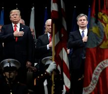 Trump said he 'did not like' FBI Director Wray's testimony on Russia election meddling