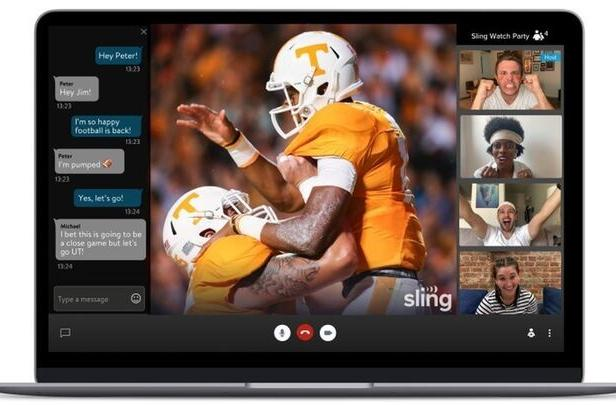 Sling's 'Watch Party' group streaming feature works with live TV