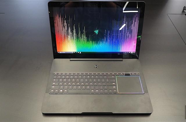 Razer's new Blade Pro laptop houses a mechanical keyboard