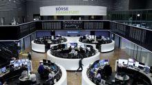 World stocks ease after setting fresh peaks; oil gains
