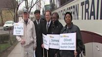 Noon: Clevelanders head to health care rally