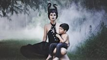 The Sweet Story Behind This Mom's Cosplaying Breastfeeding Photo