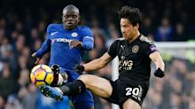 Leicester cult hero Okazaki on studying English with 'fantastic' Kante, his astonishment at Vardy & why Chilwell can succeed at Chelsea