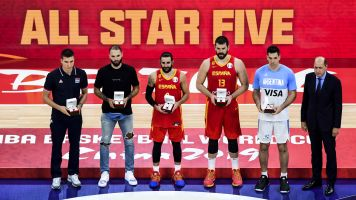 Americans shut out of All-FIBA World Cup squad