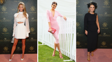 Jennifer Hawkins leads race day style at The Everest