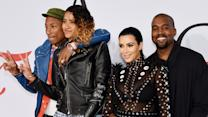 Kim Kardashian's CFDA Awards Dress Catches Fire and Pharrell Puts It Out!