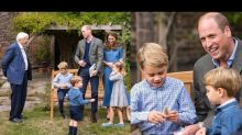 David Attenborough Gifts 3 Million-year-old Shark Tooth to Prince George