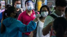 Philippine police deployed as virus cases forced into quarantine