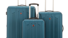 12 Deals of Christmas- Day 6: Travel in style and save 80 per cent on a new three-piece luggage set