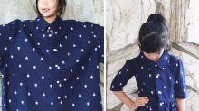 Mãe faz sucesso transformando roupas velhas em peças super modernas