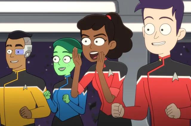 Star Trek animated comedy 'Lower Decks' heads to Blu-ray on May 18th