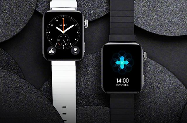 Xiaomi's first real smartwatch looks just like an Apple Watch