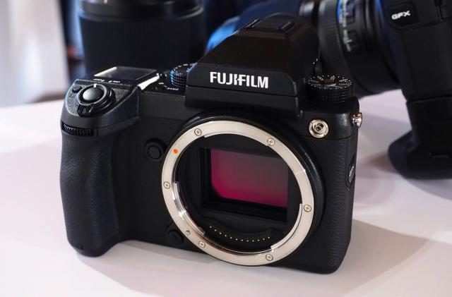 Fujifilm's GFX 50S pairs a huge sensor with a DSLR-like body