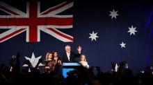 Australia's conservative coalition secures parliamentary majority