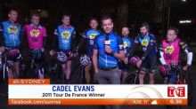 Cadel Evans on this year's Tour de France