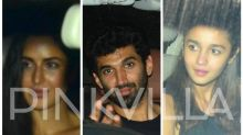Katrina, Alia, Aditya Chill Together at Best Friend Aarti Shetty's House!