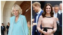 Camilla 'fuming' pregnant Kate is set to become Queen
