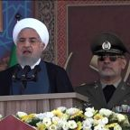 "Iran president tells western nations to ""stay away"" from Perian Gulf"