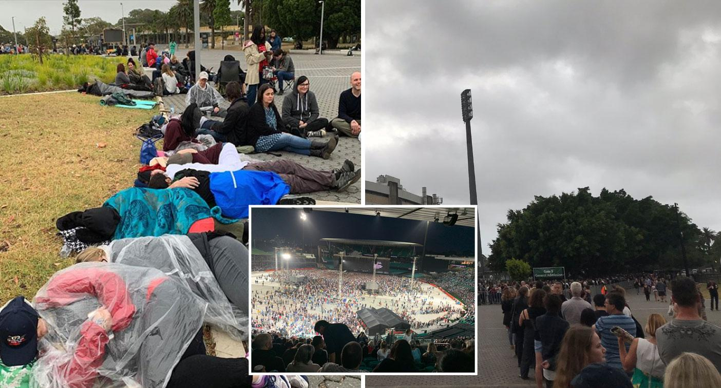 U2 fans vent anger at 'shambolic' scenes waiting for Sydney concert