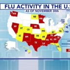 Flu season could peak early this year, CDC says