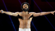 Donald Glover used AirDrop to give people free shoes at Coachella