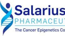 Salarius Pharmaceuticals Initiates Expansion Stage of Phase 1/2 Clinical Trial of Seclidemstat in Patients with Ewing Sarcoma and Ewing-Related Sarcomas