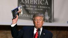 Un libro de Donald Trump podría generar ganancias millonarias, pero las grandes editoriales lo rechazan
