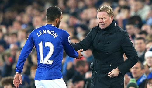 Premier League: Stress: Evertons Lennon ins Krankenhaus