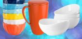 Sweese porcelain kitchenware. (Yahoo Shopping)