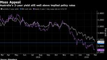 Traders Push Yields Close to RBA Cash Rate as Jobs Data Near