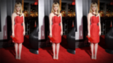 Emma Stone Wows in Red, Talks '40s Fashion