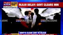 Civil Aviation Ministry says it has given clean chit to Rijiju