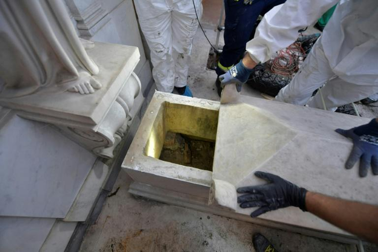 Search for missing woman yields empty tomb