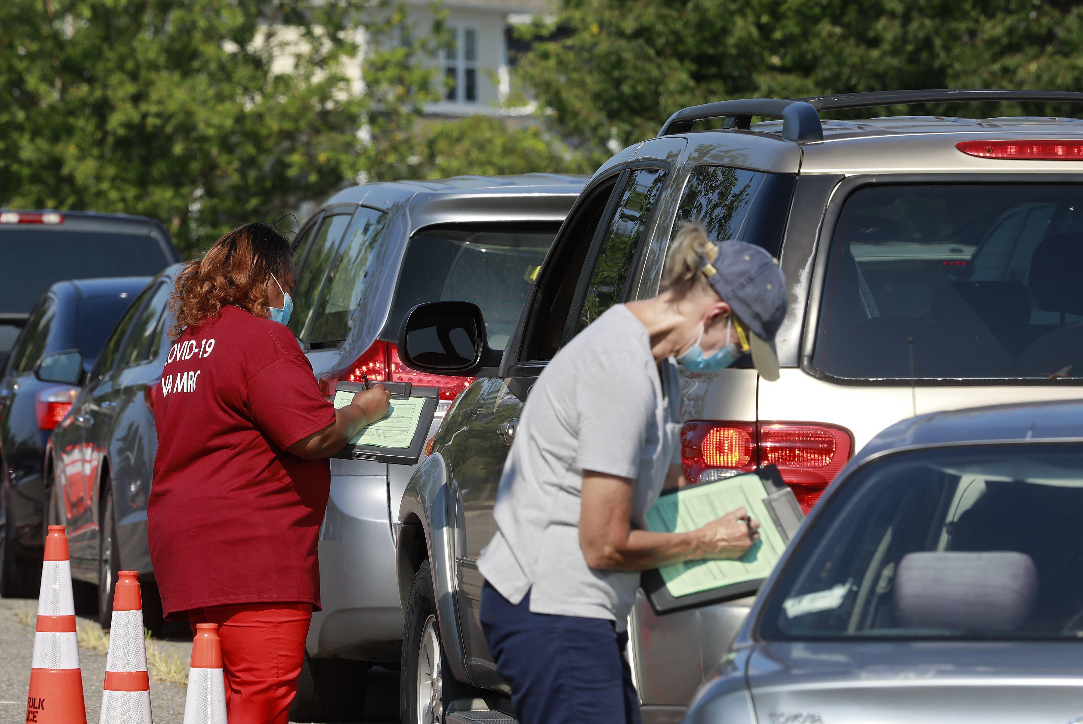 Coronavirus shifts into growth mode throughout Virginia