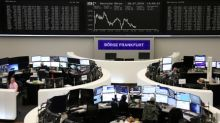Stocks rise, dollar drops as Fed chair boosts rate-cut hopes